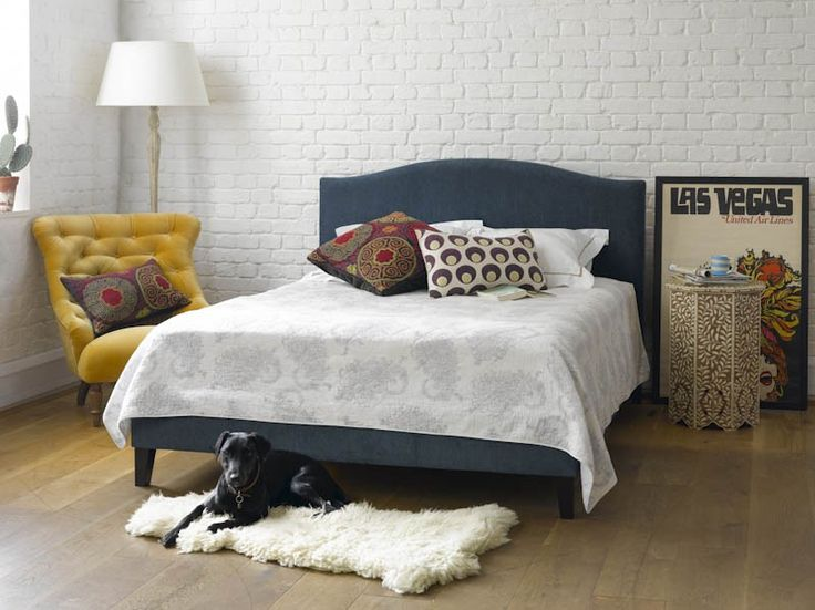 Drayson Upholstered Bed   Beds from Sofa.com