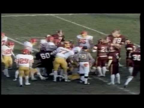 1984 Vanier Cup Highlights: University of Guelph Gryphons vs Mount Allis...