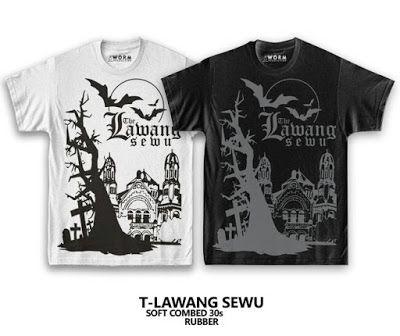 Cool and awesome Customized Design Shirt for Couple - Penyu Kaos Semarang
