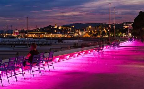 The promenade in La Croisette | Cannes Nightlife, The Telegraph