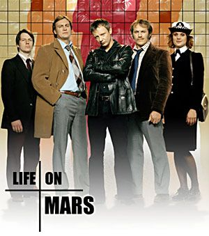 Another excellent British TV show, Life on Mars is set in the 1970s ~ fun and suspenseful.