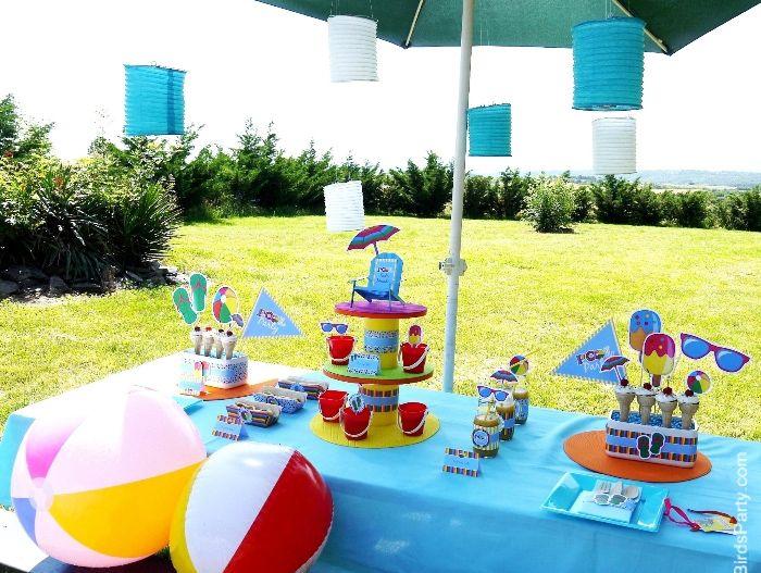 Mejores 22 im genes de pool party invitation ideas en for Ideas para cumpleanos en piscina
