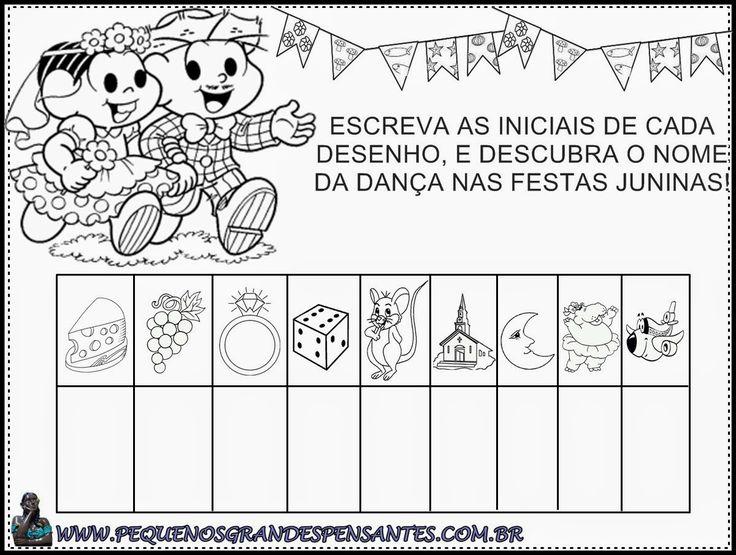 Atividade Festa Junina na Educação Infantil