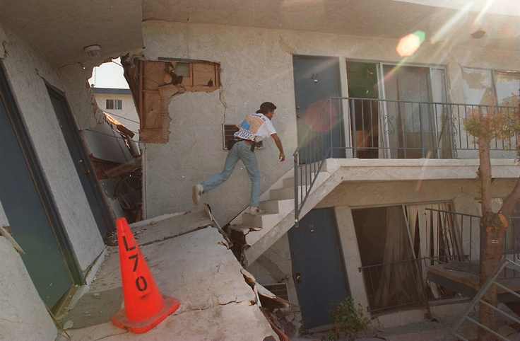 The Northridge quake hit at 4:31 the morning of Jan. 17, 1994 I was in Silverlake, quite shaken with lots of broken glass but all in all, ok.  All my friends were safe too except for a broken arm.  One friends home was split in two in Northridge.  I am grateful we are all ok to tell about it.