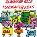 Rummage Sale Fundraiser Ideas
