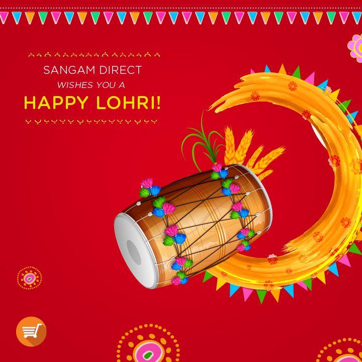 May the joyous harvest season, bring you happiness and prosperity. Happy #Lohri!  #India