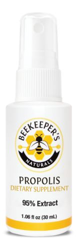 Propolis Spray from @Beekeepers_nat Beekeeper's Naturals Propolis Spray contains bioflavonoids and has antioxidant properties. Our natural and alcohol-free spray is delicious and made with high grade propolis (95% extract!) harvested by hand. Get yours today to help soothe that pesky sore throat or support your immune system!    $11.99