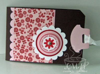 (This Months Club Project Is Based On This Gift Card Holder.