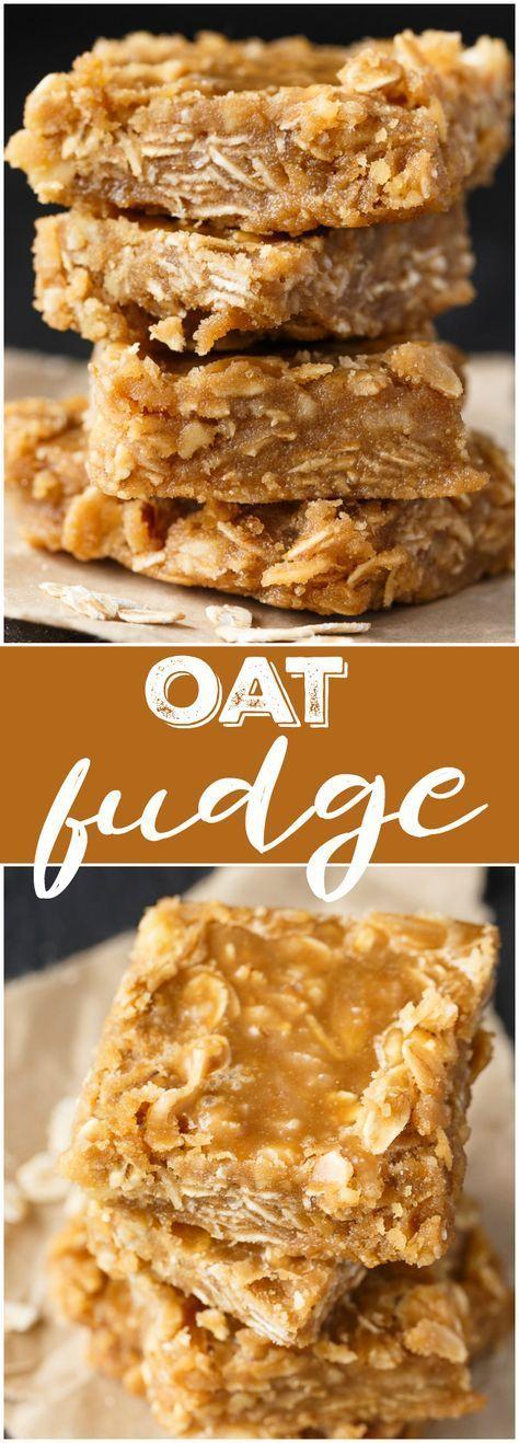 Oat Fudge