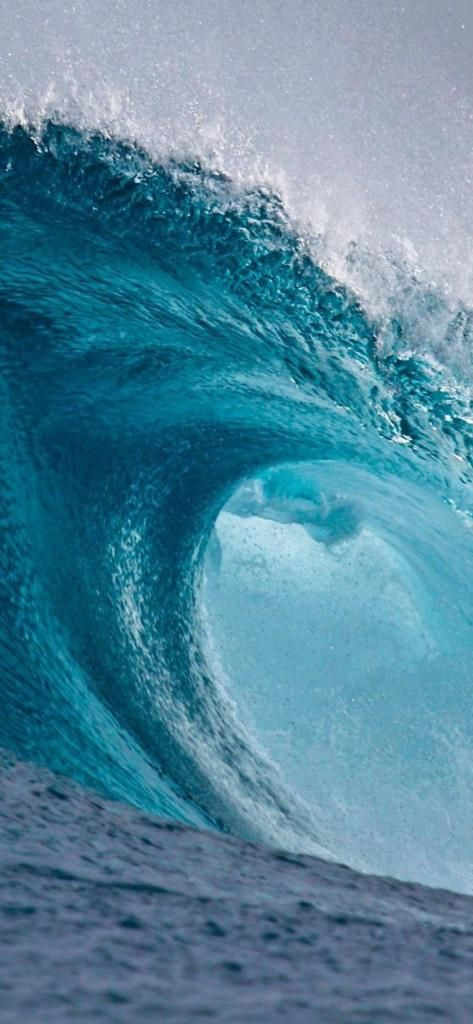 Wave Surfing The Ocean Iphone X Wallpaper Hd Awesome Wallpapers