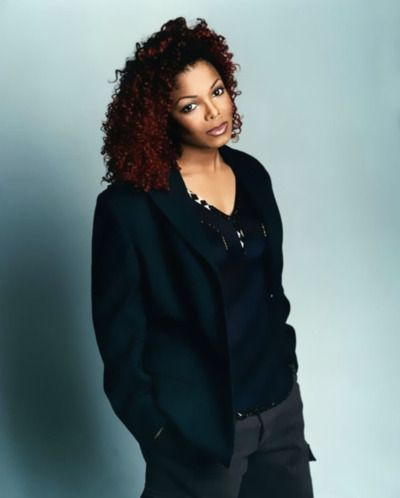 One of my most fav pics of Janet with the red curly hair!