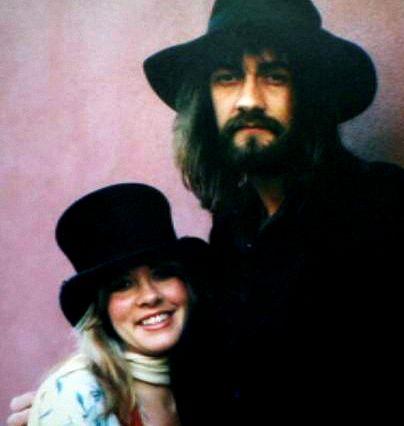 Stevie Nicks and Mick Fleetwood, Fleetwood Mac.                                                                                                                                                                                 More