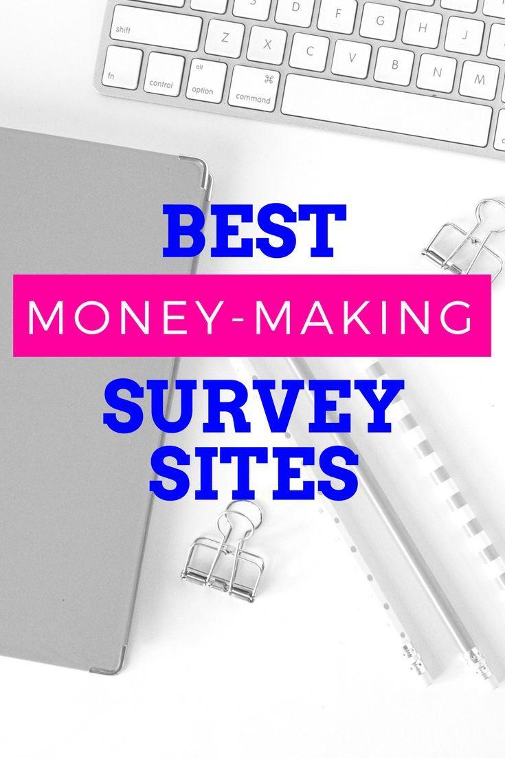 Any legit survey sites that pay