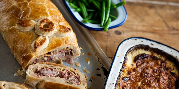 Colin McGurran uses pork rather than beef for this enticing Wellington recipe on greatbritishchefs.com