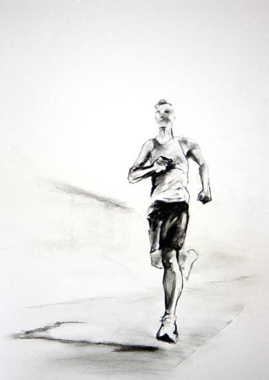 The Runner - Artwork by Matthew Ziranek