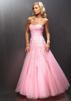 prom dresses pink