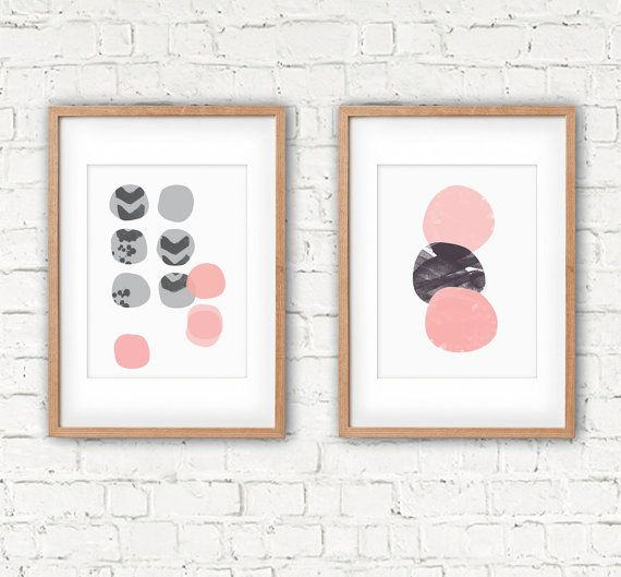 Pebble Scatter, A3 Print, 320 x 450mm unframed. Fits A3 frame.