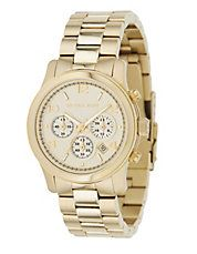 Jewellery & Accessories | Fashion | Womens Slim Gold Coloured Watch | Hudson's Bay