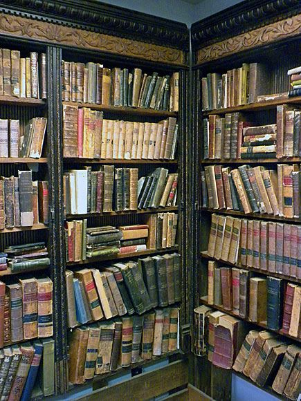 Vintage books are perfect for a modern gentleman. Check out used books for sale at the public library. Lots of treasure to be found.