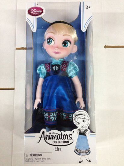 Disney Animators' Collection Elsa Doll - 16''