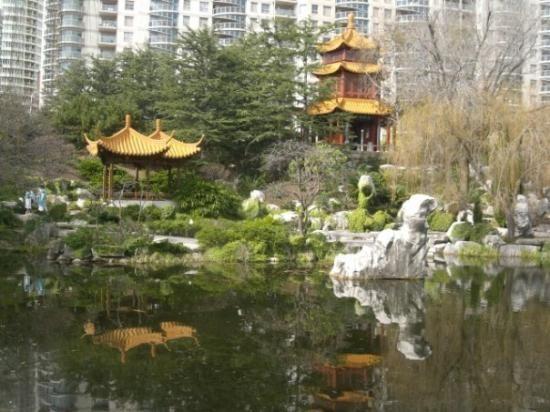 Chinese Garden of Friendship in Chinatown