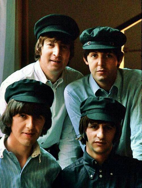 Beatles In Caps ️the Beatles Fab4 4ever Pinterest
