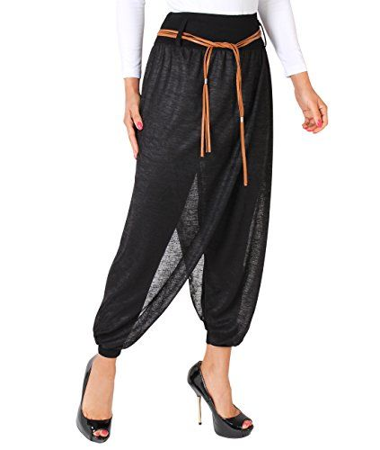 Basic Comfy Harem Pants Solid harem pants. Perfect for casual outfits as well as special occasion. • Slinky, semi-shiny stretch fabric, lightweight fabric  • Pleated styling, drape legs, elasticated cuffs • Wide, high waist, slip pockets •Model 5039 – Plain Harem Trouser: Model wears SM (US... http://darrenblogs.com/us/2018/02/01/krisp-womens-fashion-comfy-stretch-loose-baggy-cropped-cuffed-yoga-pants/