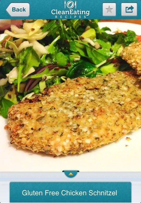 Gluten Free Chicken Schnitzel | Main Course | Pinterest