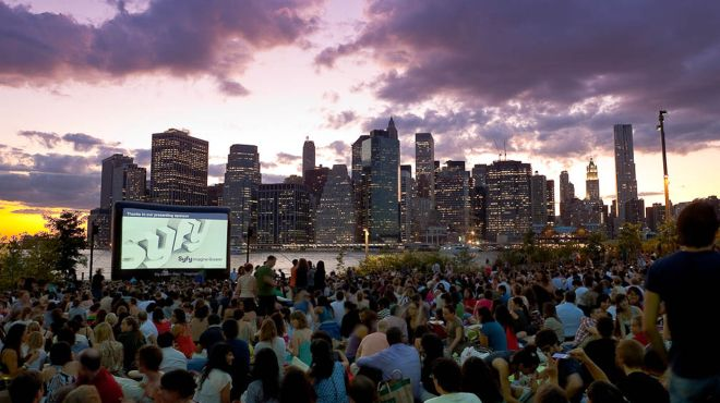Movies in the park and summer outdoor screenings in NYC .......... Discover where to catch movies in the park this summer with handy calendar of free outdoor screenings in New York City.