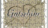 Gutscheine auf Puzzle - Gutschein als Puzzle - Puzzle-Gutschein - Gutscheinvorlagen zum selbst gestalten