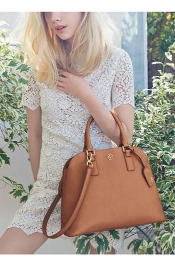 Elegant as a handbag and a crossbody   Satchel by Tory Burch