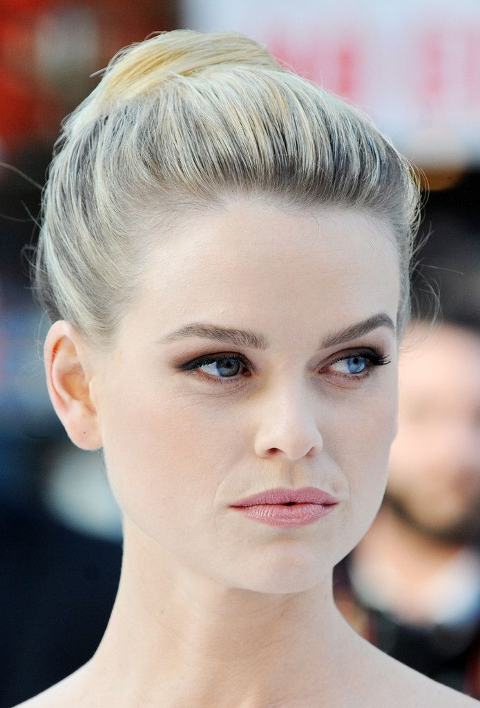 "Alice Eve attends the UK Premiere of ""Star Trek Into Darkness"" at The Empire Cinema on May 2, 2013 in London, England."