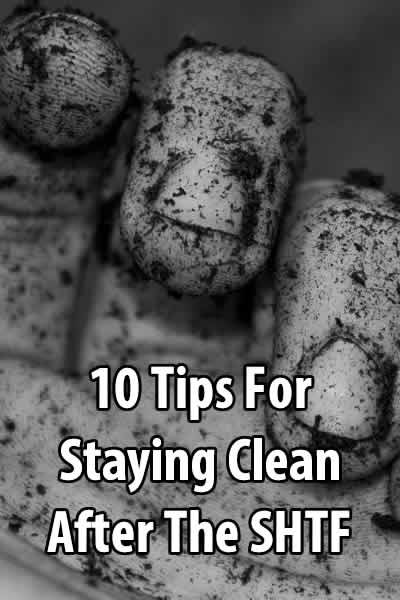 The point of this article is to give you a few ideas on personal hygiene in post-SHTF situations, although some of these tips can be applied right now.