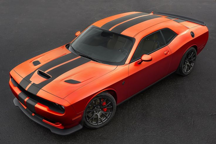 2016 Dodge Challenger Go Mango Color Available For STR 392 And SRT Hellcat  Models