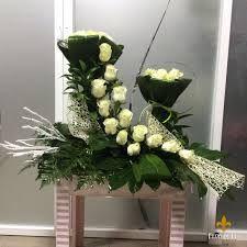 Resultado de imagen de arranjos florais para igrejas com gerberas