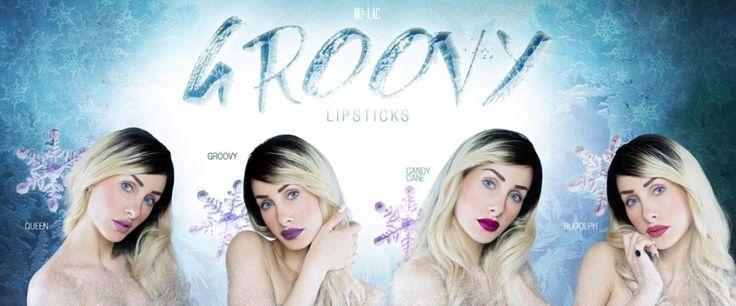 Groovy Lipstick, la nuova collezione di rossetti di Mulac Cosmetics