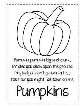 Pumpkins, Pumpkins, and MORE PUMPKINS! 20 page literacy math pumpkin unit!