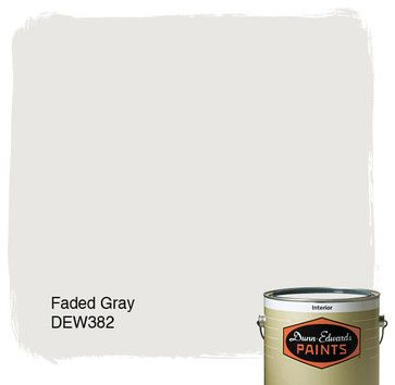 Dunn-Edwards Paints Faded Gray DEW382 paints-stains-and-glazes