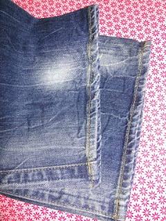 Jeans kürzen mit Originalsaum Nr. 2