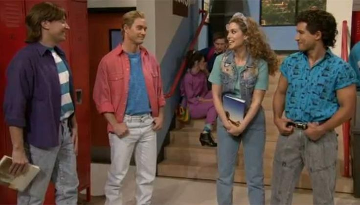 Jimmy Fallon went to Bayside High School with 'Saved by the Bell' Cast