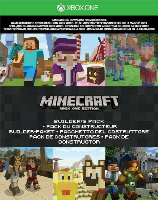 Minecraft - Builders pack XBOX ONE KEY (REGION FREE