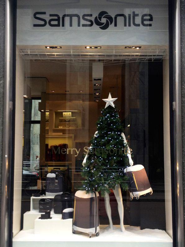 Samsonite Natale 2013  Fashion Tree
