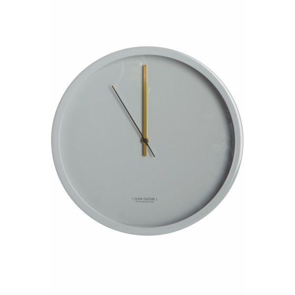 House Doctor Clock Couture Wandklok Grijs - 30 cm