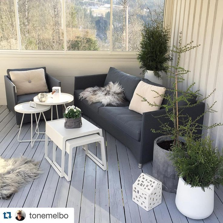 Diamond lounge mixed with Chill-out and On-the-move side tables • Repost from @tonemelbo ✨Thank you so much for sharing  your Cane-line moments @tonemelbo #caneline #diamond #styling #design #outdoorliving #exterior #outdoorfurniture