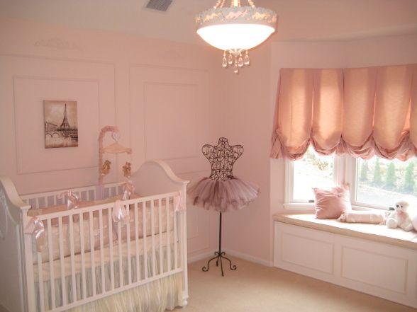 ballet nursery decor | Sophia's Ballerina Nursery - Nursery Designs - Decorating Ideas - HGTV ..