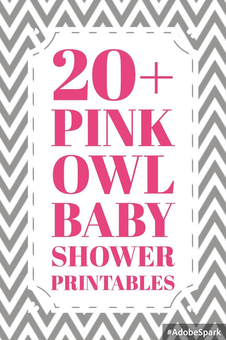 Pink Owl Baby Shower Theme – Celebrate Life Crafts - http://blog.celebratelifecrafts.com/pink-owl-baby-shower-theme/