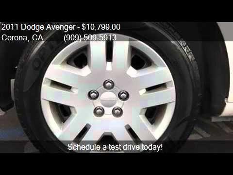 2011 Dodge Avenger Express 4dr Sedan for sale in Corona CA http://youtu.be/iAKWnyue0L0