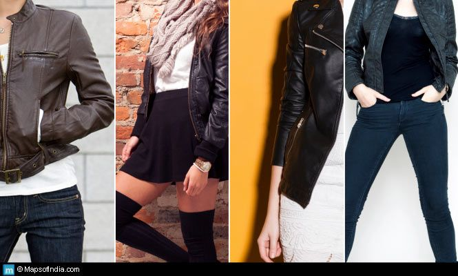 Donning Leather Jackets In Style