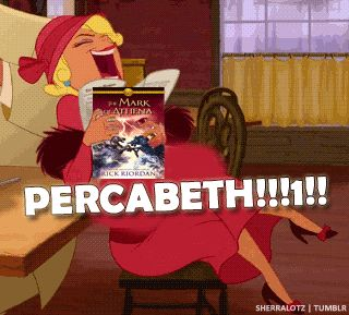 percy and annabeth reunion in mark of athena | The Mark of Athena by Rick Riordan  That was so me