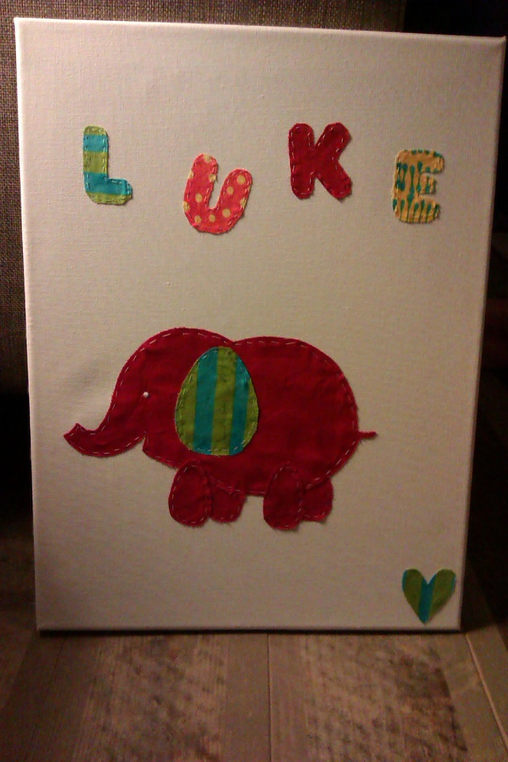 My first wall art project for my beautiful nephew Luke